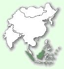 Борнейський димчастий леопард - мапа поширення